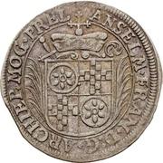12 Kreuzer - Anselm Franz von Ingelheim – avers