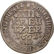 12 Kreuzer - Anselm Franz von Ingelheim – revers
