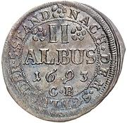 2 Albus - Anselm Franz von Ingelheim – revers