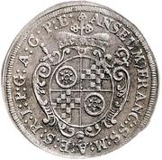 3 Kreuzer - Anselm Franz von Ingelheim (Death) – avers