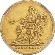 1 Ducat - Lothar Franz von Schönborn (Peace treaty of Ryswick) – revers