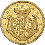 2 Ducat - Lothar Franz von Schönborn (Peace treaty of Ryswick) – avers