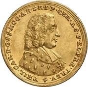 1 Ducat - Philipp Karl von Eltz-Kempenich – avers