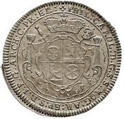 1 Groschen - Philipp Karl von Eltz-Kempenich (Death; Sterbegroschen) – avers