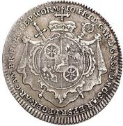 ⅛ Thaler - Johann Friedrich Carl von Ostein (Death; 1/8 Sterbetaler) – avers