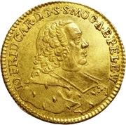 1 Ducat - Johann Friedrich Karl von Ostein – avers