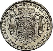 ⅛ Thaler - Emmerich Josef von Breitenbach (Death; 1/8 Sterbetaler) – avers