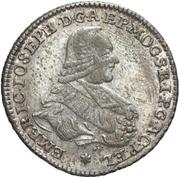 20 Kreuzer - Emerich Joseph von Breitbach-Bürresheim (20 Konventionskreuzer) – avers