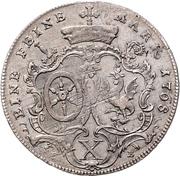 1 Thaler - Emmerich Joseph von Breitbach-Bürresheim (Konventionstaler) – revers