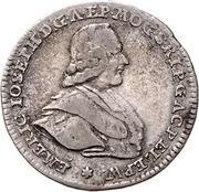 20 Kreuzer - Emerich-Joseph von Breitbach-Bürresheim (20 Konventionskreuzer) – avers
