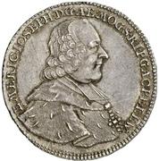 ½ Thaler - Emerich Joseph von Breitbach-Bürresheim (1/2 Konventionstaler) – avers