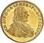 1 Ducat -  Emerich Joseph von Breitbach-Bürresheim – avers
