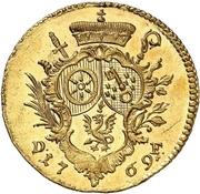 1 Ducat -  Emerich Joseph von Breitbach-Bürresheim – revers