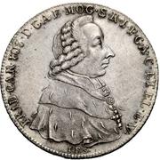 1 Thaler - Friedrich Karl Joseph von Erthal (Konventionstaler) -  avers