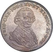 1 Thaler - Friedrich Karl Joseph von Erthal (Konventionstaler) – avers