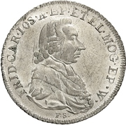 5 Kreuzer - Friedrich Karl Joseph von Erthal – avers