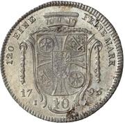 10 Kreuzer - Friedrich Karl Joseph von Erthal (10 Konventionskreuzer) – revers