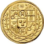 1 Albus - Lothar Friedrich von Metternich Burscheid (Gold pattern strike) – avers
