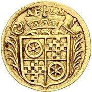 1 Dreier - Anselm Franz von Ingelheim (Gold pattern strike) – avers