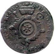 1 pfennig Emeric Josef – avers