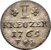 1 Kreuzer - Joseph von Breitbach-Bürresheim – revers