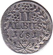 2 albus Anselm Franz von Ingelheim – revers