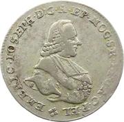 20 kreuzer Emmerich Joseph de Breitbach-Bürresheim – avers