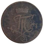 1 pfennig Johann Friedrich Karl – avers