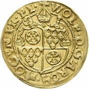 1 goldgulden Wolfgang de Dalberg – avers