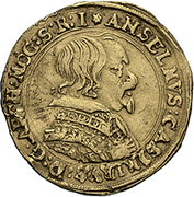 1 ducat Anselm Casimir Wamboldt de Wollrath – avers