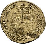 1 ducat Anselm Casimir Wamboldt de Wollrath – revers