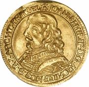 1 Ducat - Johann Philipp – avers