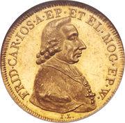 1 Ducat - Friedrich Karl Josef – avers