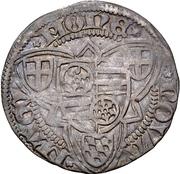 1 Weißpfennig - Dietrich II. von Isenburg-Büdingen – revers