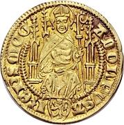 1 Goldgulden - Adolph I. von Nassau (Bingen) – avers