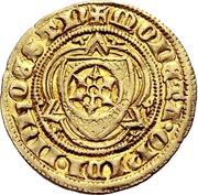 1 Goldgulden - Adolph I. von Nassau (Bingen) – revers