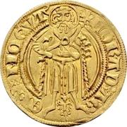 1 Goldgulden - Konrad II. von Weinsberg – avers