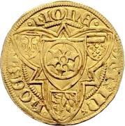 1 Goldgulden - Konrad II. von Weinsberg – revers