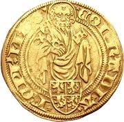 1 Goldgulden - Conrad III von Dhaun (Höchst) – avers