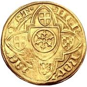 1 Goldgulden - Conrad III von Dhaun (Höchst) – revers