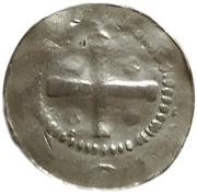 1 Pfennig - Heinrich II – revers