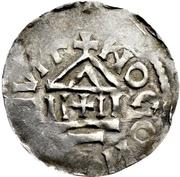 1 Pfennig - Arnulf von Kärnten – revers