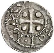 1 Pfennig - Otto III. – avers