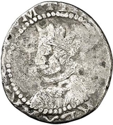 1 real Philippe IV -  avers