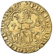 Real Pierre IV fleur de lis – avers