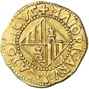 4 escudos Charles III prétendant -  avers