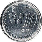 10 Sen -  avers
