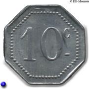 10 Centimes Ville de Malakoff [92] – revers