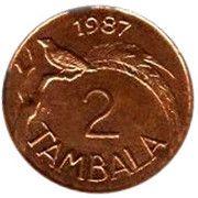 2 tambala -  revers