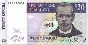 20 Kwacha – avers